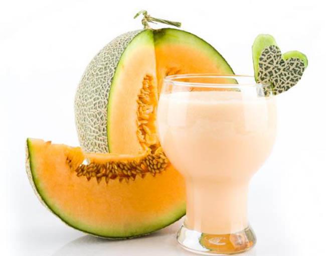 Batido de melón para el verano
